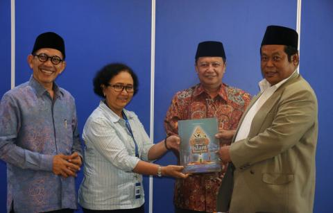 Jelang Munas-Konbes, PBNU Silaturrahmi ke Kompas Group