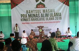 Bahtsul Masail Pra-Munas Konbes NU Digelar di Tangerang