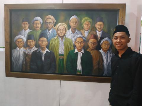 Tiga Urgensi Pameran Lukisan di Munas Konbes NU 2019