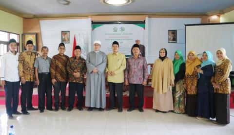 Dosen Universitas Al-Azhar Mesir Syekh Bilal Mahmud di Jombang
