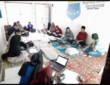 Catatan Pelatihan Jurnalistik PMII Jakarta Timur