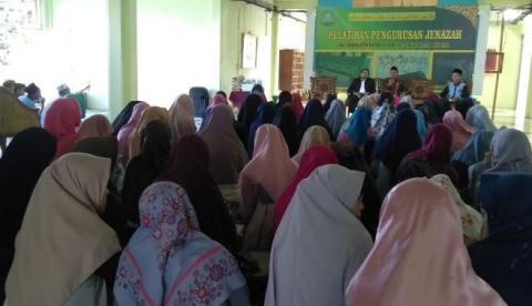 Ma'had UIN Lampung Bekali Santri Pengurusan Jenazah
