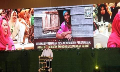 Kepada Yenny Wahid, Mendes Minta Gerakan Desa Damai Ditularkan ke 74.957 Desa di Indonesia