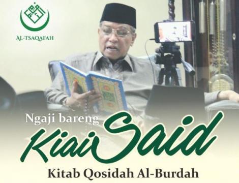 Ikuti Ngaji Burdah Bersama Kiai Said Selama Ramadhan