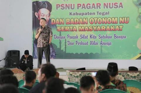 Wabup Tegal Sebut Peluang Pesilat Pagar Nusa Jadi Atlet Terbuka Lebar