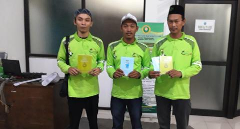 Ma'arif NU Jateng Luncurkan Dua Buku Karya Siswa