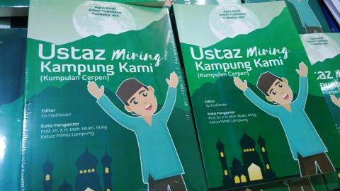 NU Lampung Luncurkan Buku Ustadz Miring Kampung Kami