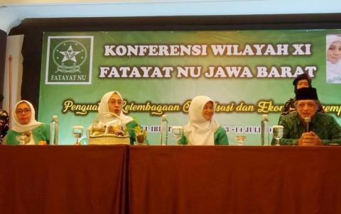 Noor Rafiqa Terpilih Pimpin Fatayat NU Jabar 5 Tahun ke Depan