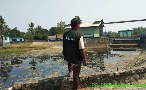 LPBINU Subang Minta Pemerintah Segera Atasi Pencemaran Air di Pantura