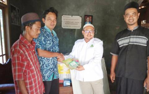 Majukan Pendidikan, Ansor Lasem Sumbang Kitab ke Madrasah