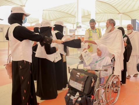 Arab Saudi Bagikan Sejuta SIM Card untuk Jamaah Haji Tahun Ini