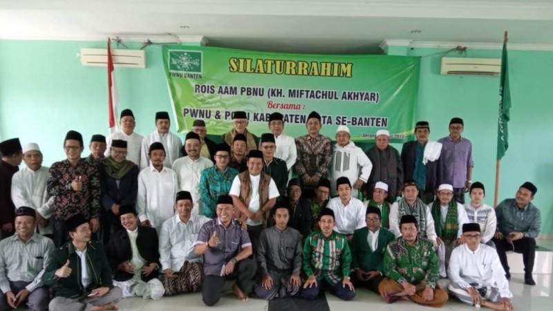 Rais Aam Bersilaturahim dengan Pengurus NU Seluruh Banten