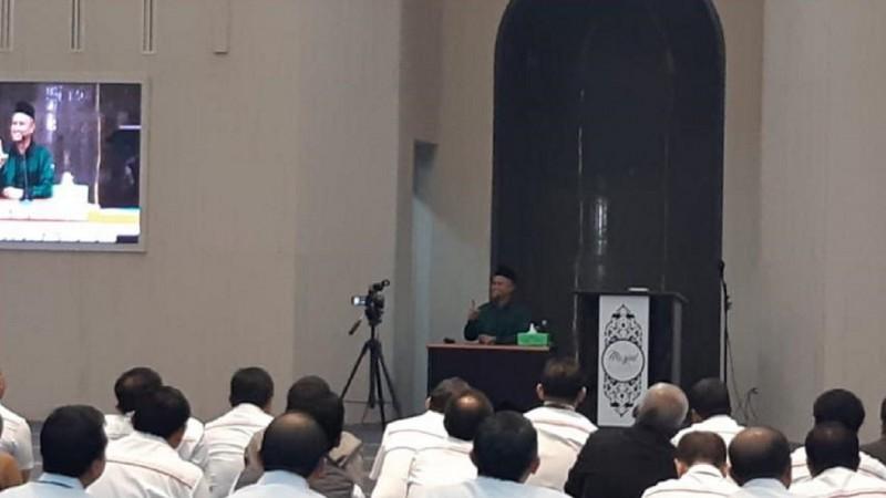 Nasihat Kiai Ali Nurdin ke Pimpinan Telkom Group: Sabar, Jangan Mudah Panas