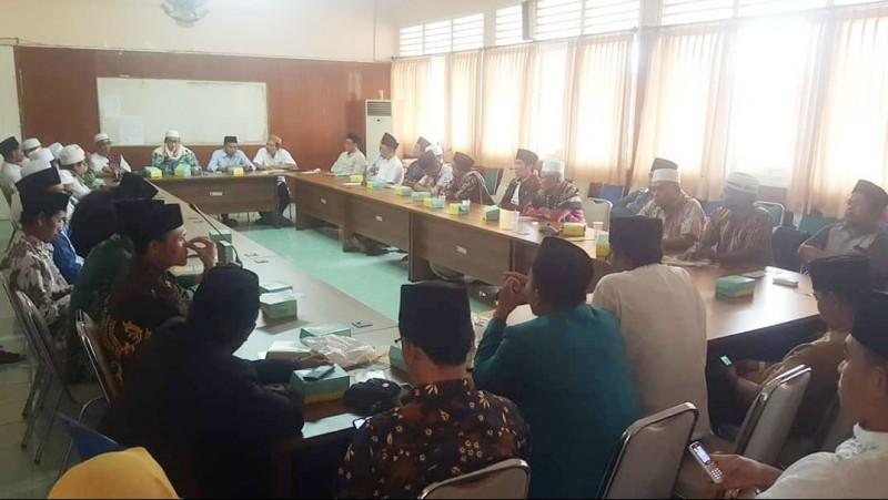 Evaluasi Kinerja, NU Lombok Tengah Gelar Konsolidasi