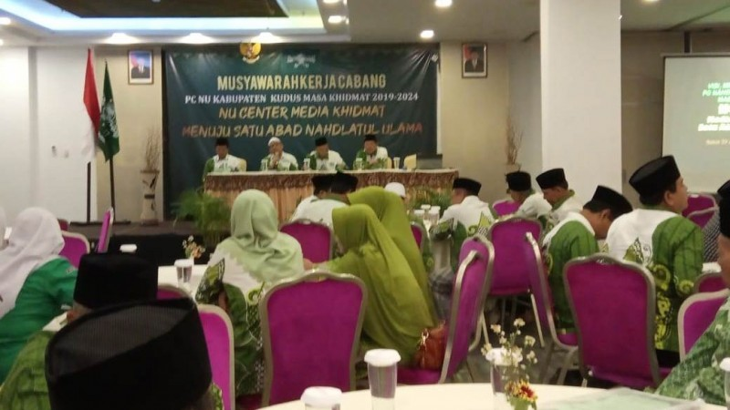Dorong Dakwah Multimedia, PCNU Kudus Luncurkan Website Terpadu