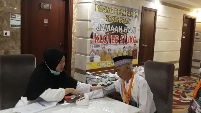 Petugas Kesehatan Haji Terus Pastikan Jemaah Sehat