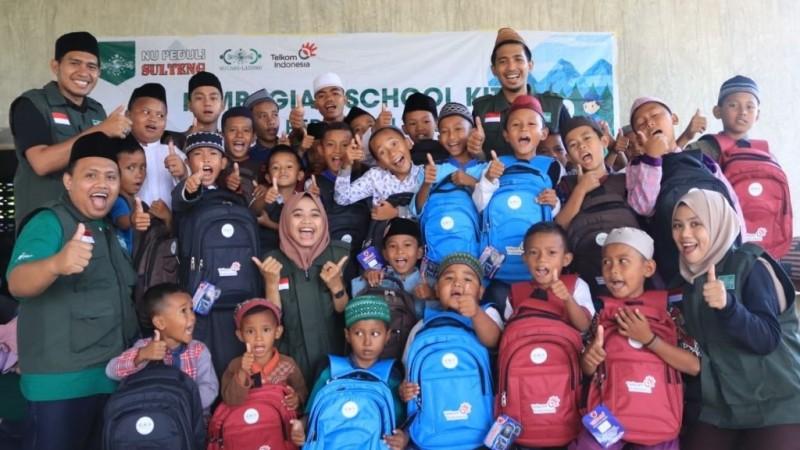 NU Peduli Salurkan 1000 Paket Sembako dan Alat Sekolah di Sulteng