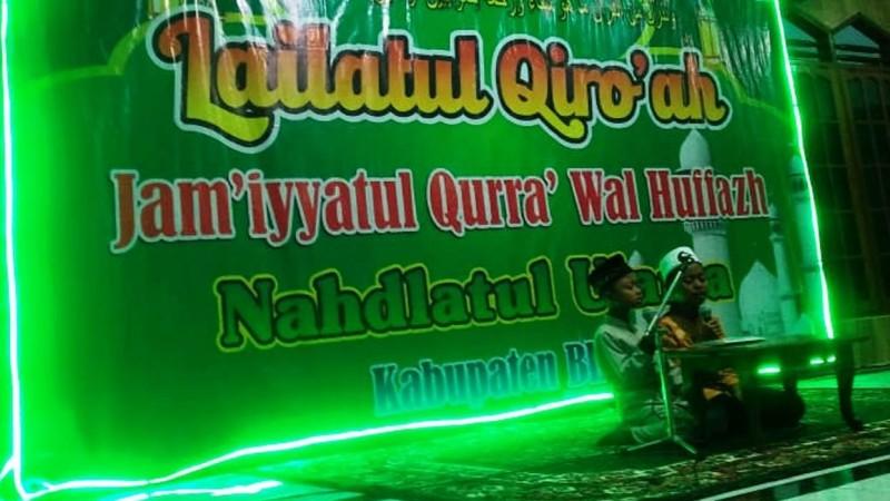 Lailatul Qiro'ah, Cara NU Kabupaten Blitar Temukan Kader