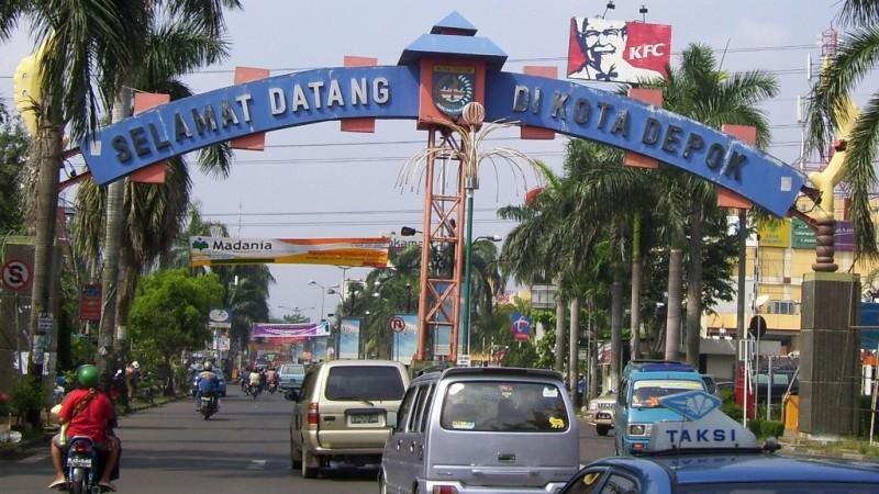 Pintu gerbang Kota Depok (Wikipedia)