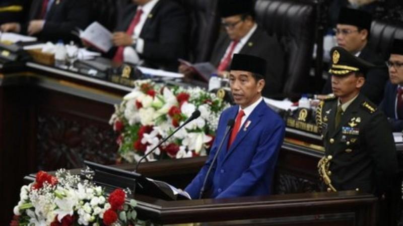 Pesan Kebangsaan Presiden Jokowi di Sidang Tahunan MPR 2019