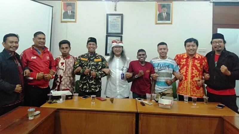 Ansor Jawa Tengah Temui Mahasiswa Asal Papua di Semarang