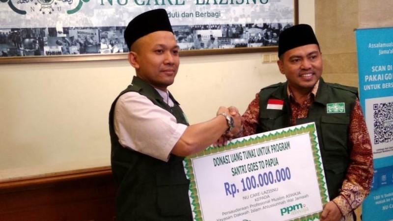 NU Care-LAZISNU Bantu Program 'Santri Goes to Papua'