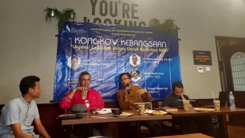 Diskusi Pemuda di Jakarta Bahas Urgensi Legalitas Ormas