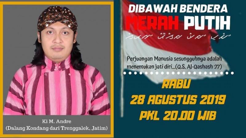 Suluk Lesbumi NU Lampung Hadirkan Dalang Ki Andri Asal Trenggalek Jatim