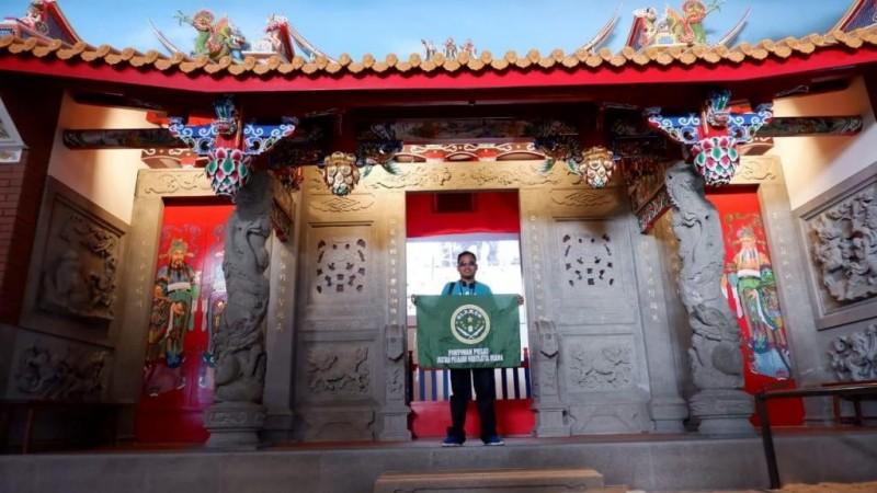 Ikuti Pertukaran Pemuda Muslim di Taiwan, IPNU Kenalkan Batik sebagai Pakaian untuk Ibadah