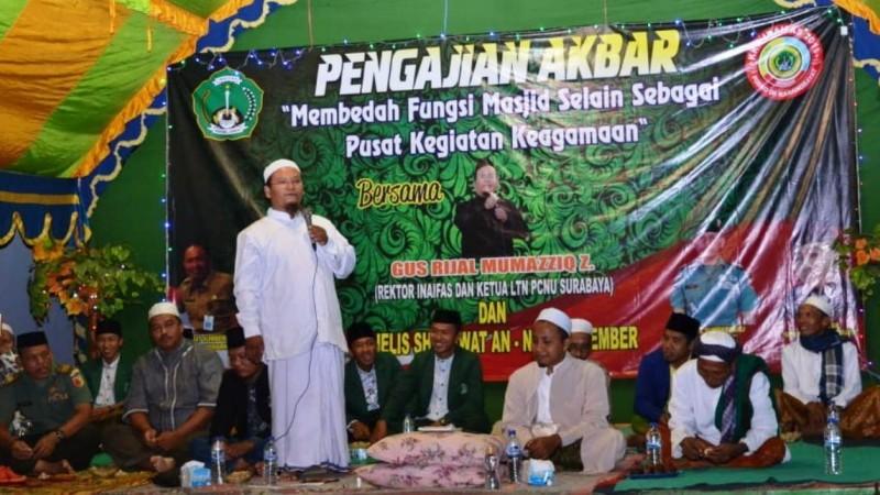 Rektor Inaifas Jember Ingatkan Takmir Masjid Pekerjaan Mulia