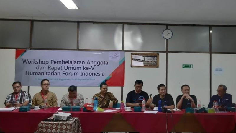 Aklamasi, Ketua LPBINU Jadi Ketua Umum Humanitarian Forum Indonesia