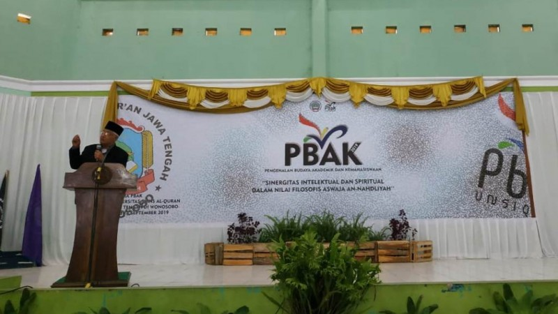 Rektor Unsiq Ajak Mahasiswa Baru Tingkatkan Budaya Literasi