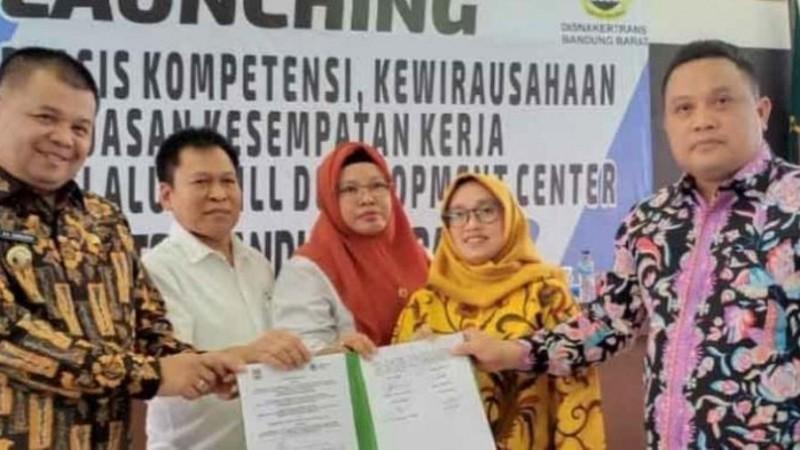 Peluncuran Pelatihan Terintegrasi Kompetensi di Bandung Barat