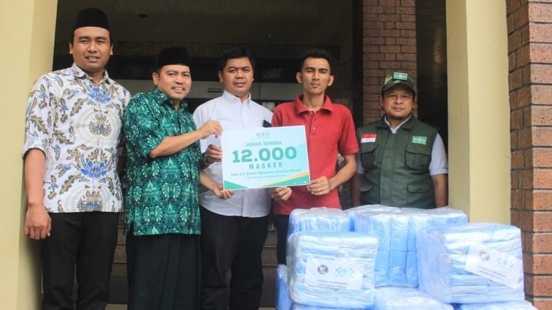 NU Care Terima 12.000 Masker untuk Warga Terdampak Karhutla