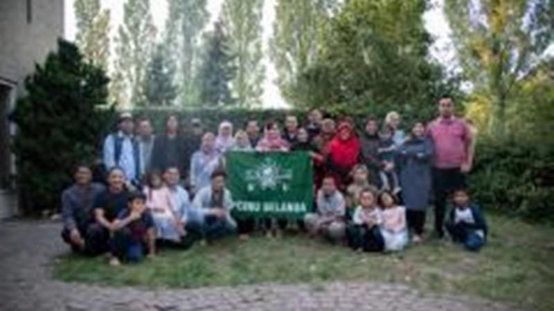 Para aktivis dan pengurus PCINU Belanda (Foto: NU Online/Ikbar Sallim Al Asyari)