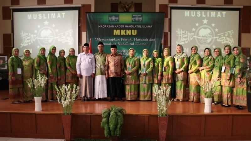 Gelar MKNU, Muslimat Perkuat Etos Kerja dan Kreativitas Kader