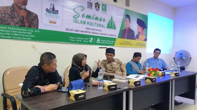 Geliat Muslim Bali Dibedah di IAIN Pontianak