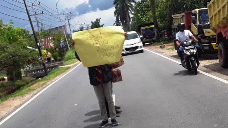 Bantu Gempa Ambon, STAI Mempawah Kalbar Galang Dana