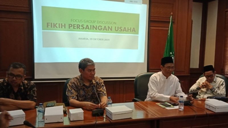 Dorong DPR Perbaiki UU Persaingan Usaha, PBNU dan KPPU Terbitkan Buku