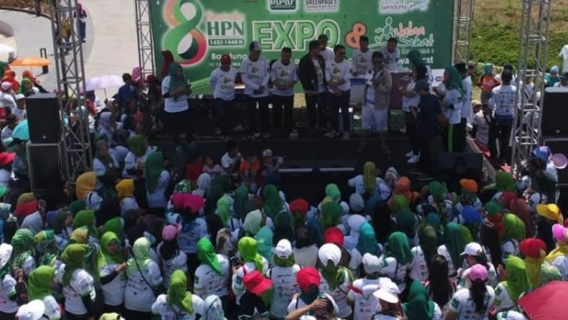 Omset Bazar HPN di Bandung Capai Ratusan Juta