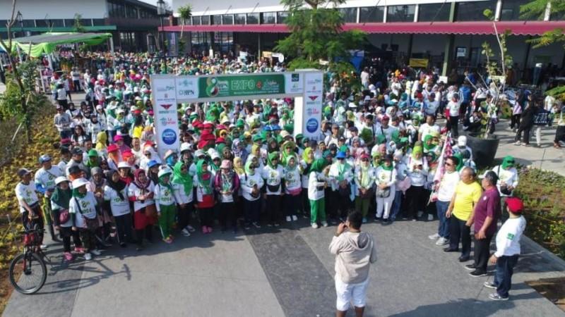 1500 Orang Ikuti Jalan Sehat Harlah HPN di Bandung