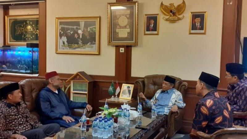 Kepada Syekh Najeem, Ketum PBNU Paparkan Hubungan Indonesia dan Maroko