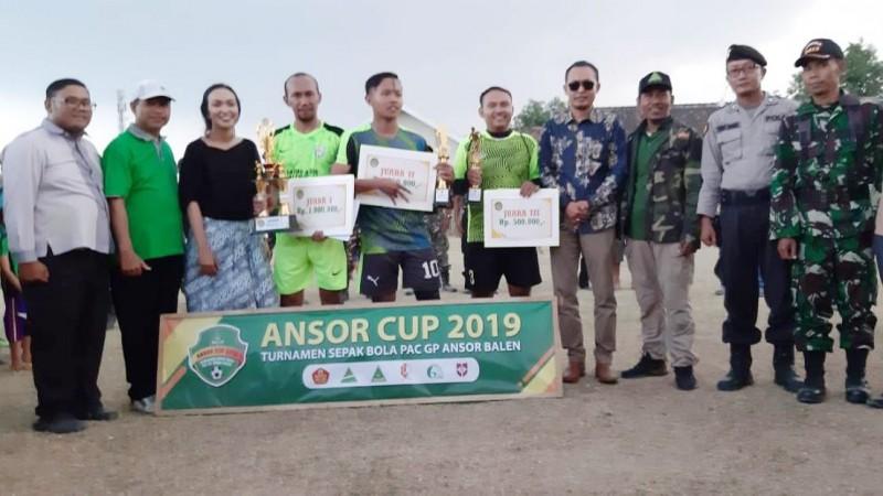 DPRD dan Manajemen Persibo Suport Ansor Cup Balen Bojonegoro