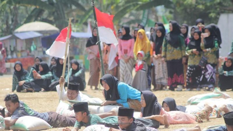 Drama Kolosal sampai Khatmil Qur'an Warnai Hari Santri di Jawa Tengah