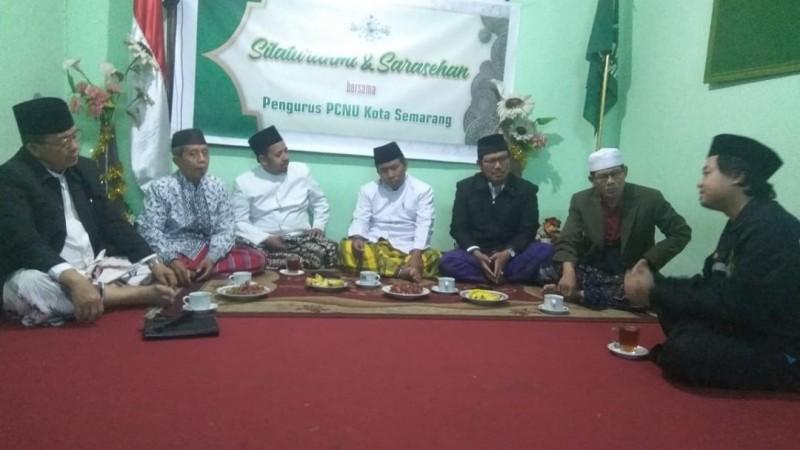 Sarasehan PCINU Mesir-PCNU Kota Semarang Bahas Tantangan Dakwah Aswaja