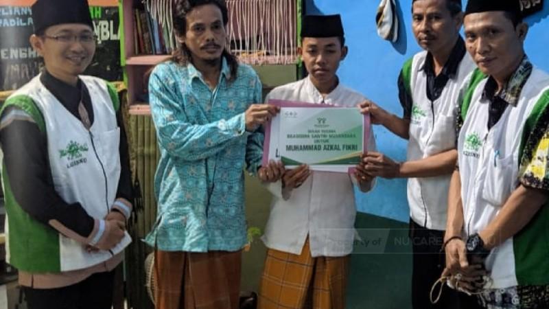 NU Care Bantu Santri yang 'Ramal' Prabowo Jadi Menteri