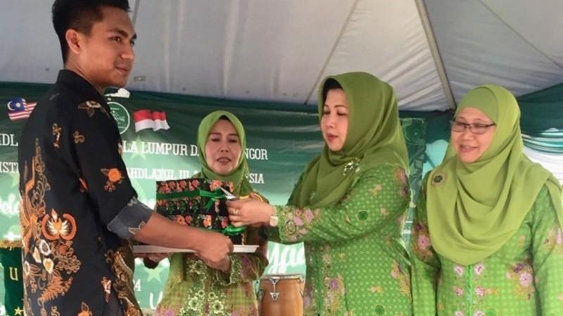 Muslimat NU Malaysia Luncurkan Produk Minyak Wangi Annisa
