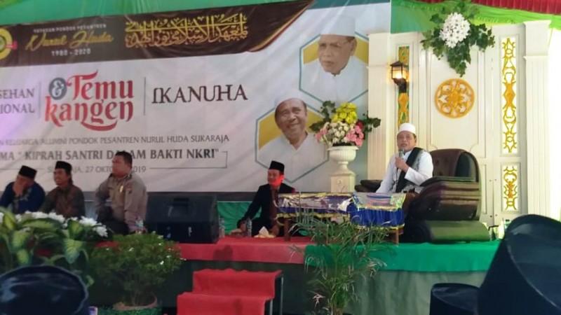 Cara Unik Pesantren di Sumatra Selatan Kumpulkan Alumni