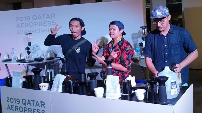 Membanggakan, Barista Asal Indonesia Sabet Gelar Juara Pertama di Qatar