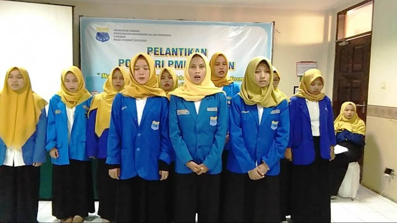Korps PMII Putri Cirebon Optimalkan Peran Perempuan dalam Pembangunan